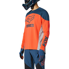 Fox Defend Foxhead Langarm Trikot Herren atomic punch